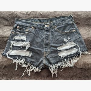 Custom Levi's Cutoff Shorts - W38